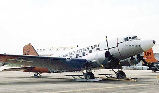 U.S.A Aircraft landing