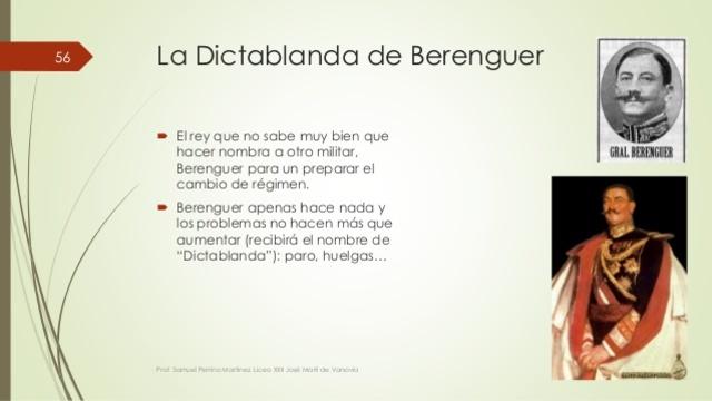 DICTABLANDA 1929-1930