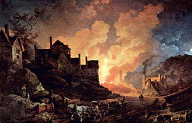 Inicio de la Revolucion Industrial