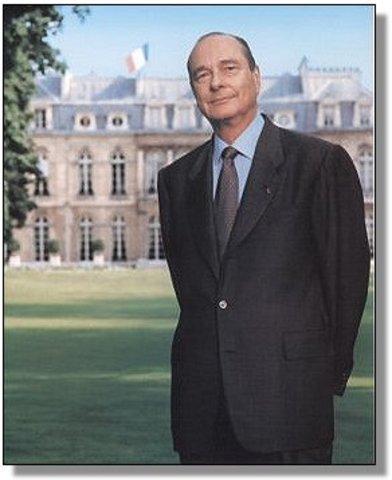 Élection de Jacques Chirac au mandat de Président de la République