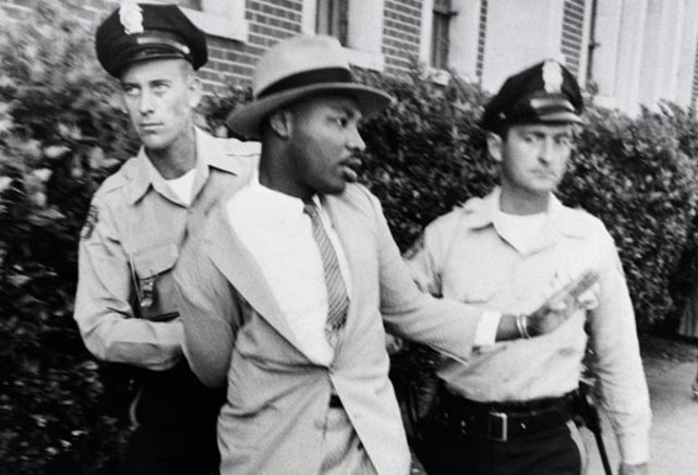 king and others get arrested