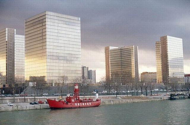 Inauguration de la Bibliothèque nationale de France (BNF)