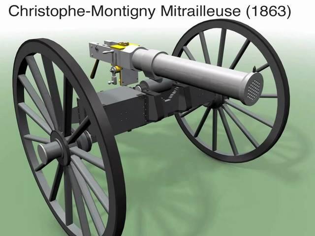 Multi Barrel Gun