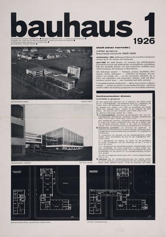 Bauhaus Magazine 1st Edition