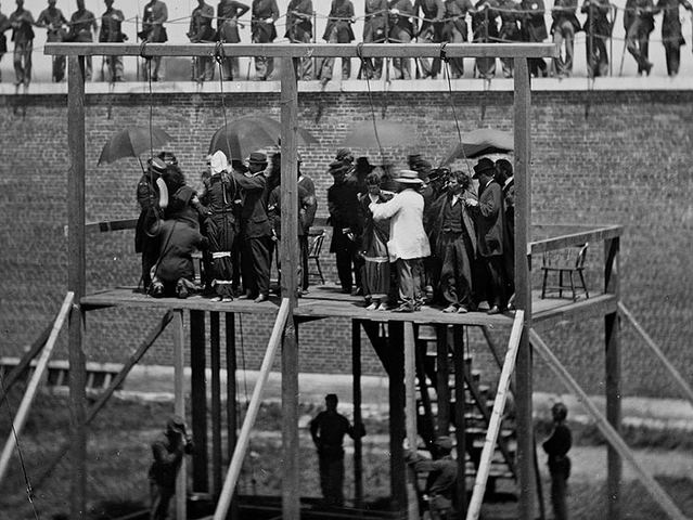 Execution day of four conspirators