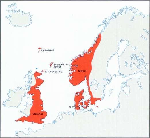 Danmarks udstrækning i vikingetiden