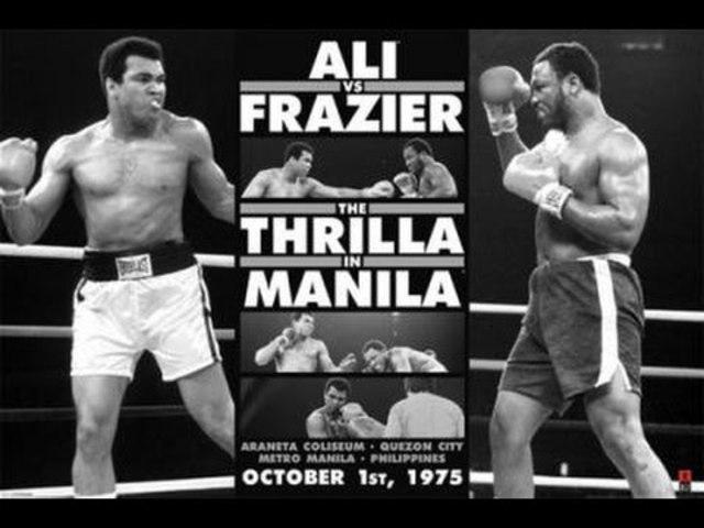 Muhammad Ali vs Joe Frazier final fight