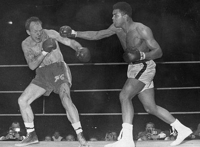 Muhammad Ali wins his first Heavy Weight Championship