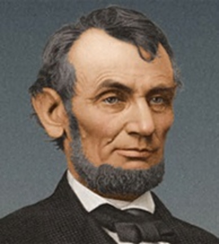Lincoln Arrives at Theater