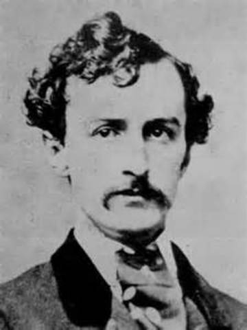 John Wilkes Booth Leaves Theater