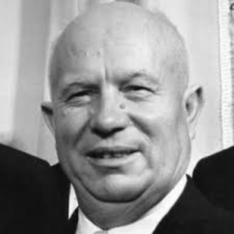 Khrushchev comes to power