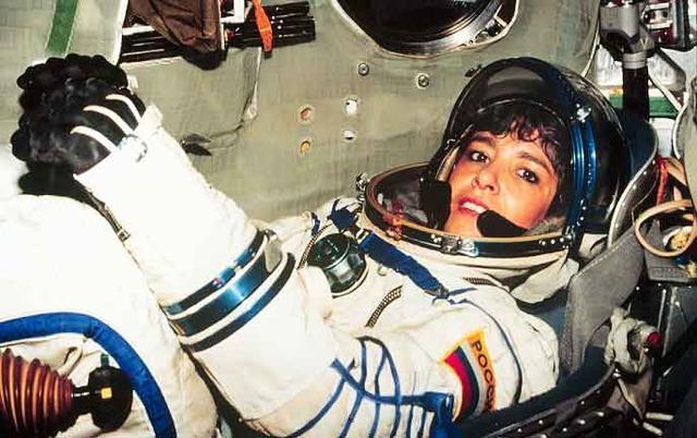 Claudie Haigneré, première astronaute française dans l'espace