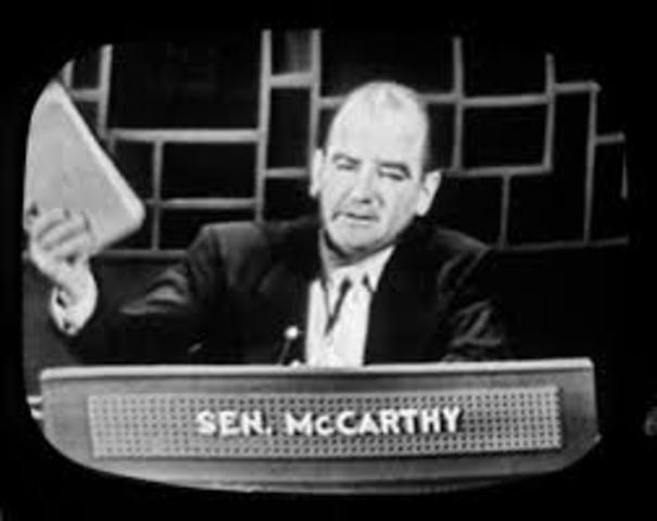 """McCarthyism"""