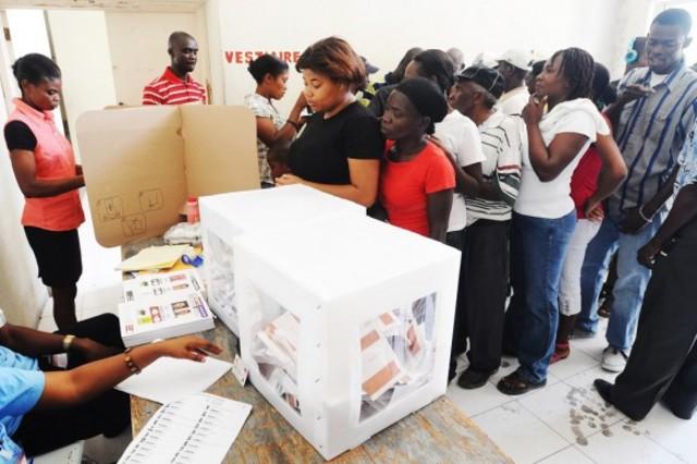Elecciones Haití.