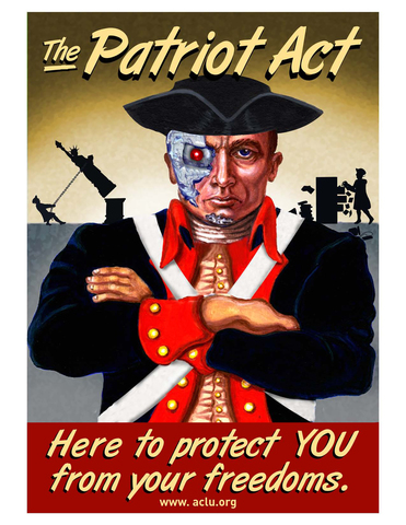 USA Patriot Act amended the Immigration and Nationality Act