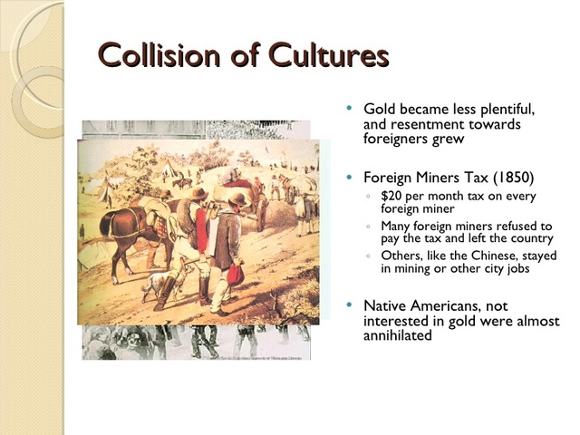 Foreign Miner's Tax