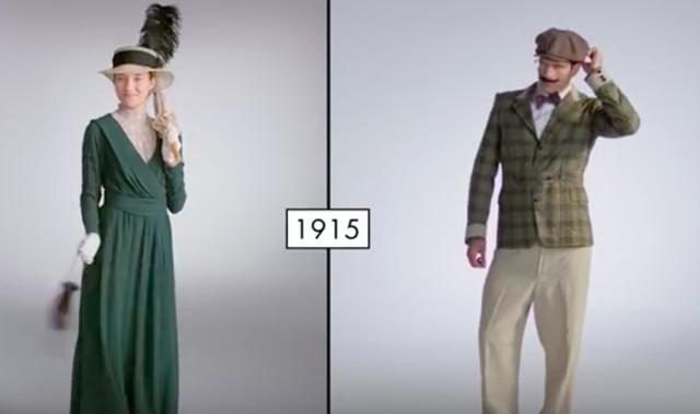 Fashion in 1915