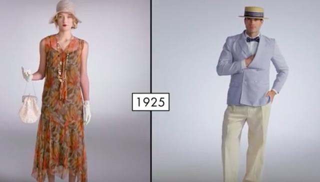 Fashion in 1925