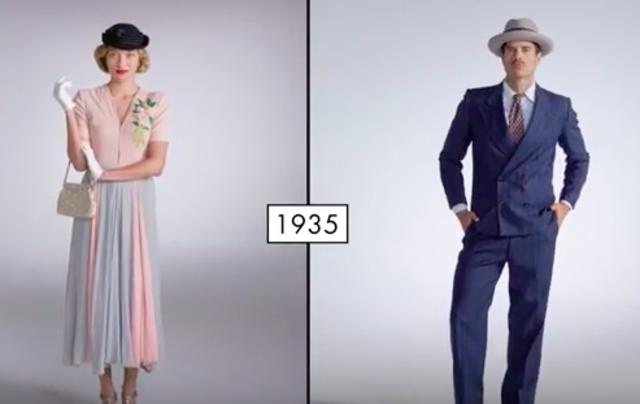 Fashion in 1935