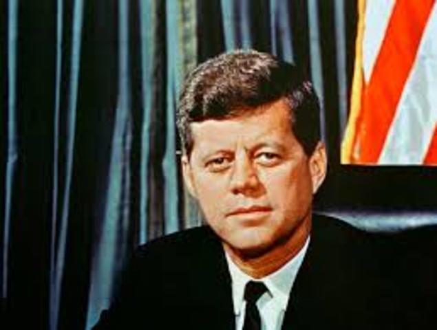 JFK sworn into office