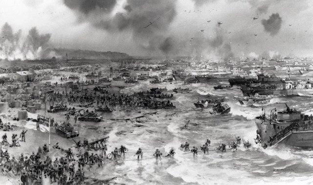D-Day Invasion Timeline- Mari