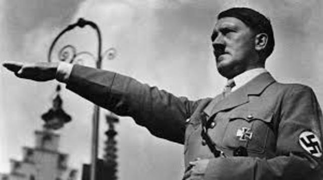 Triunfo del nazismo- Hitler