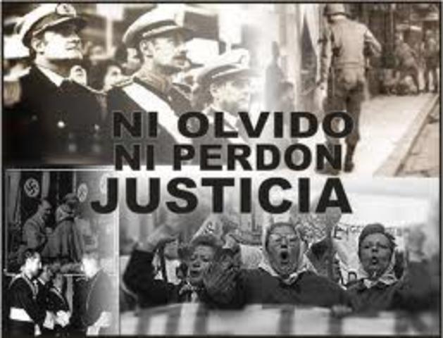 DICTADURAS PRIMERA GENERACION