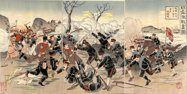 japan goes to war with Russia