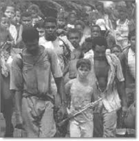 inicio conflictos armados colombianos