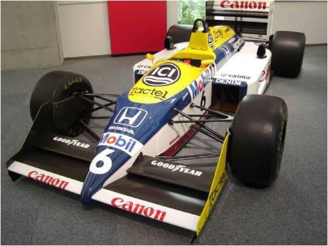 Williams-Ford  FW07 B