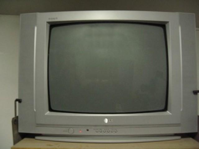 Popularização da TV de CRT(Tubos de Raios Catódicos)