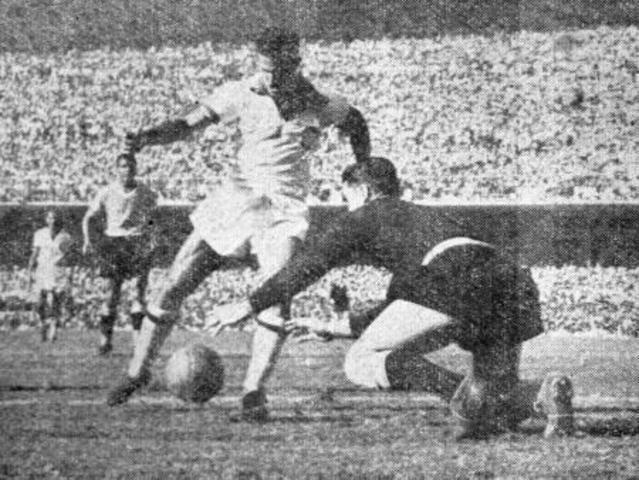 Primeira transmissão de um jogo de Futebol-No Brasil