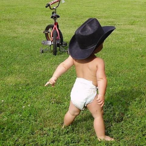 i learned how to walk