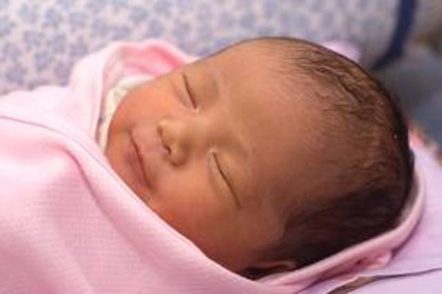 younger sister maddie was born