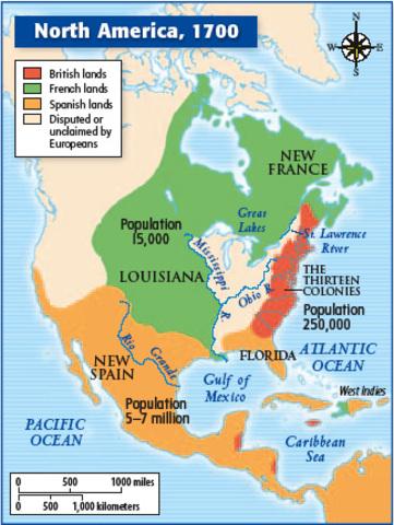 Early European Colonization of America