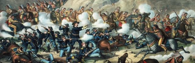 Battle at Little Bighorn