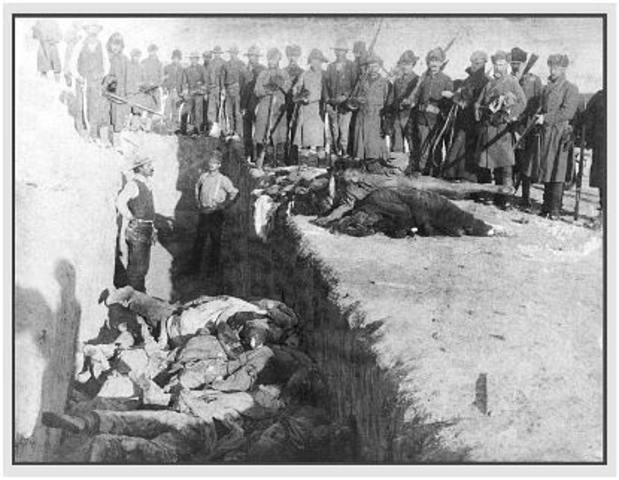 Battle (Massacre) at Wounded Knee
