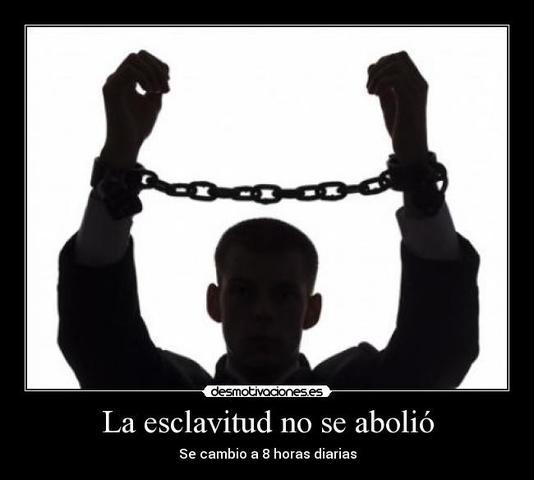 No!!! a la Esclavitud