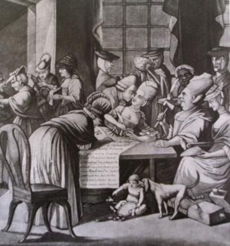 Penelope Pagett Barket(1728-1796)