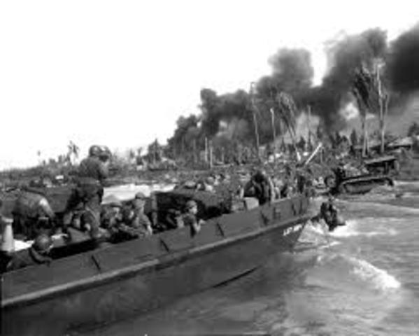 Desembarco en Balikpapan