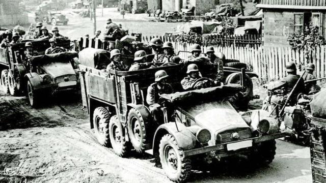 Detonante, invasión de Polonia