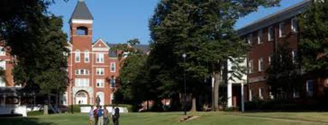 Morehouse College is founded