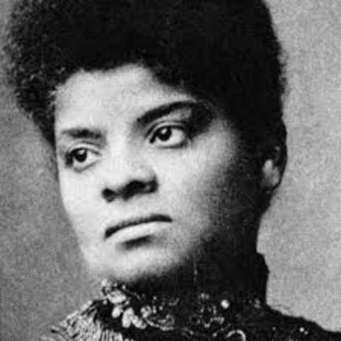 Ida B. Wells begins her anti-lynching campaign
