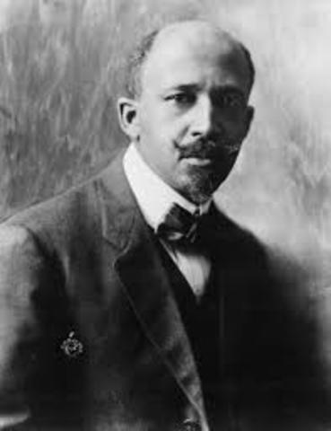 W.E.B. Du Bois first to receive a Ph.D. from Harvard University