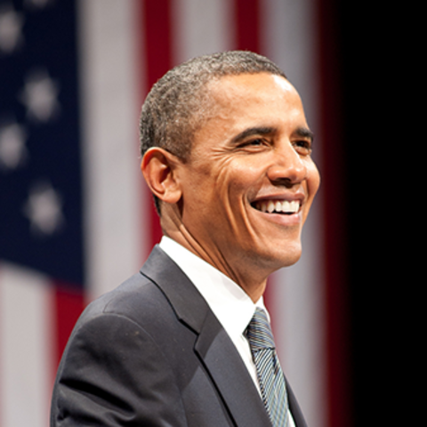 Barack Obama is sworn into office