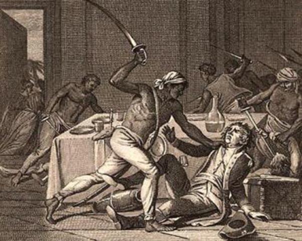 The New York City slave revolt