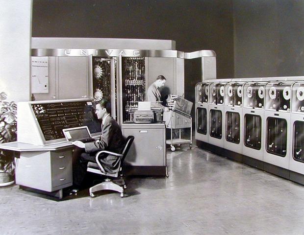 UNIVAC (por los creadores de ENIAC y EDVAC)