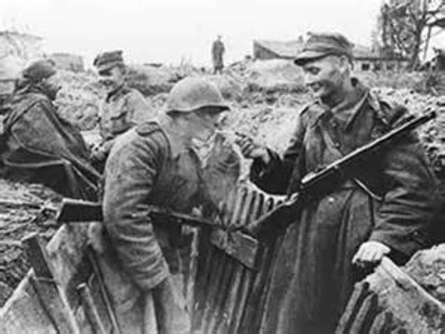 Alemania intenta invadir la URSS