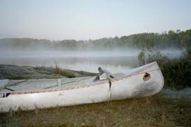 Chris canoes