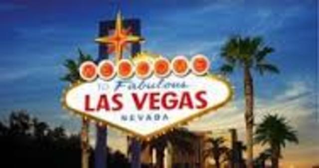 Chris lives in Las Vegas